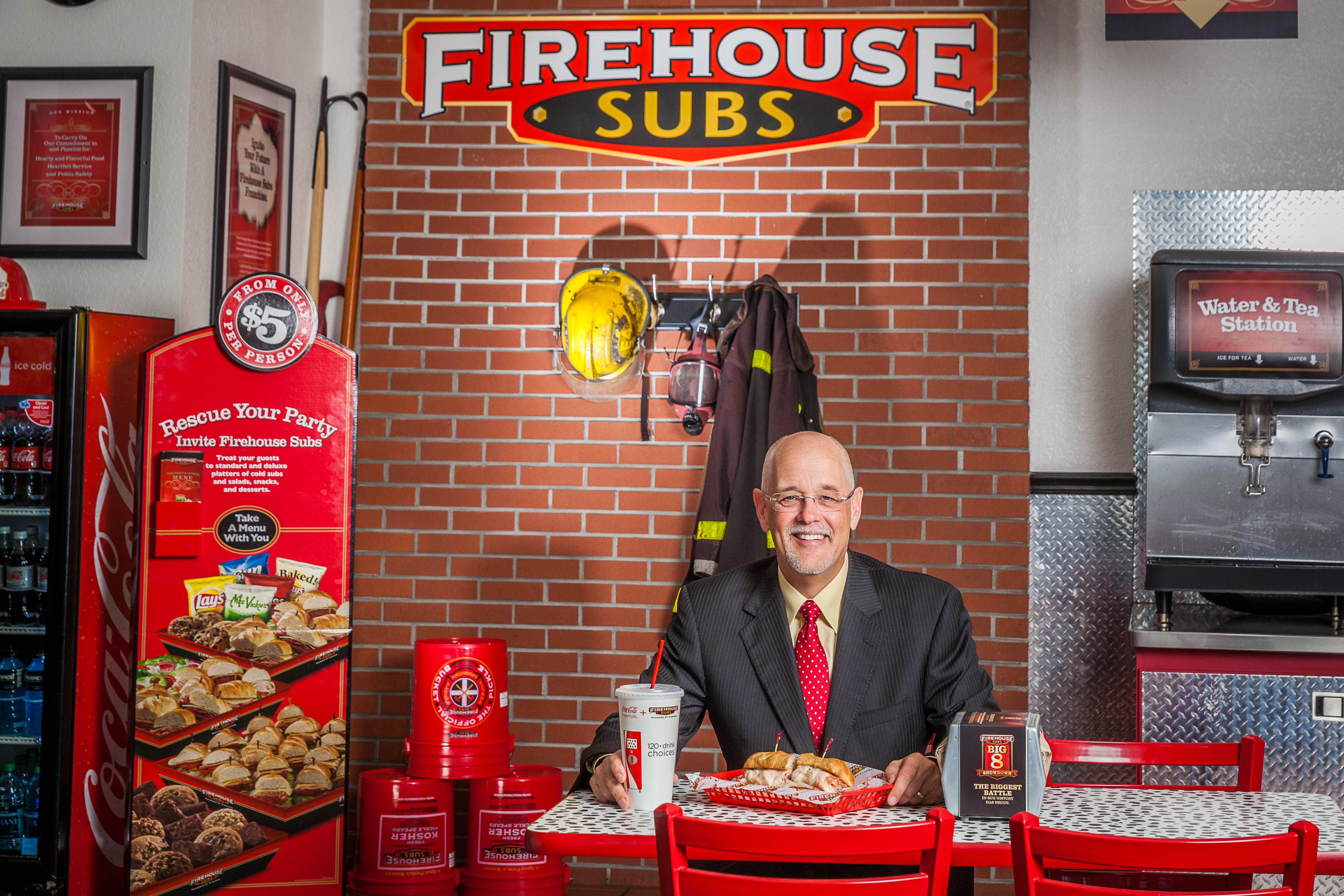 FIREHOUSE CEO DON FOX EMPHASIZES THE IMPORTANCE OF CULTURE