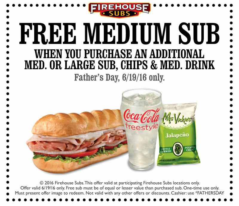 Firehouse coupon code