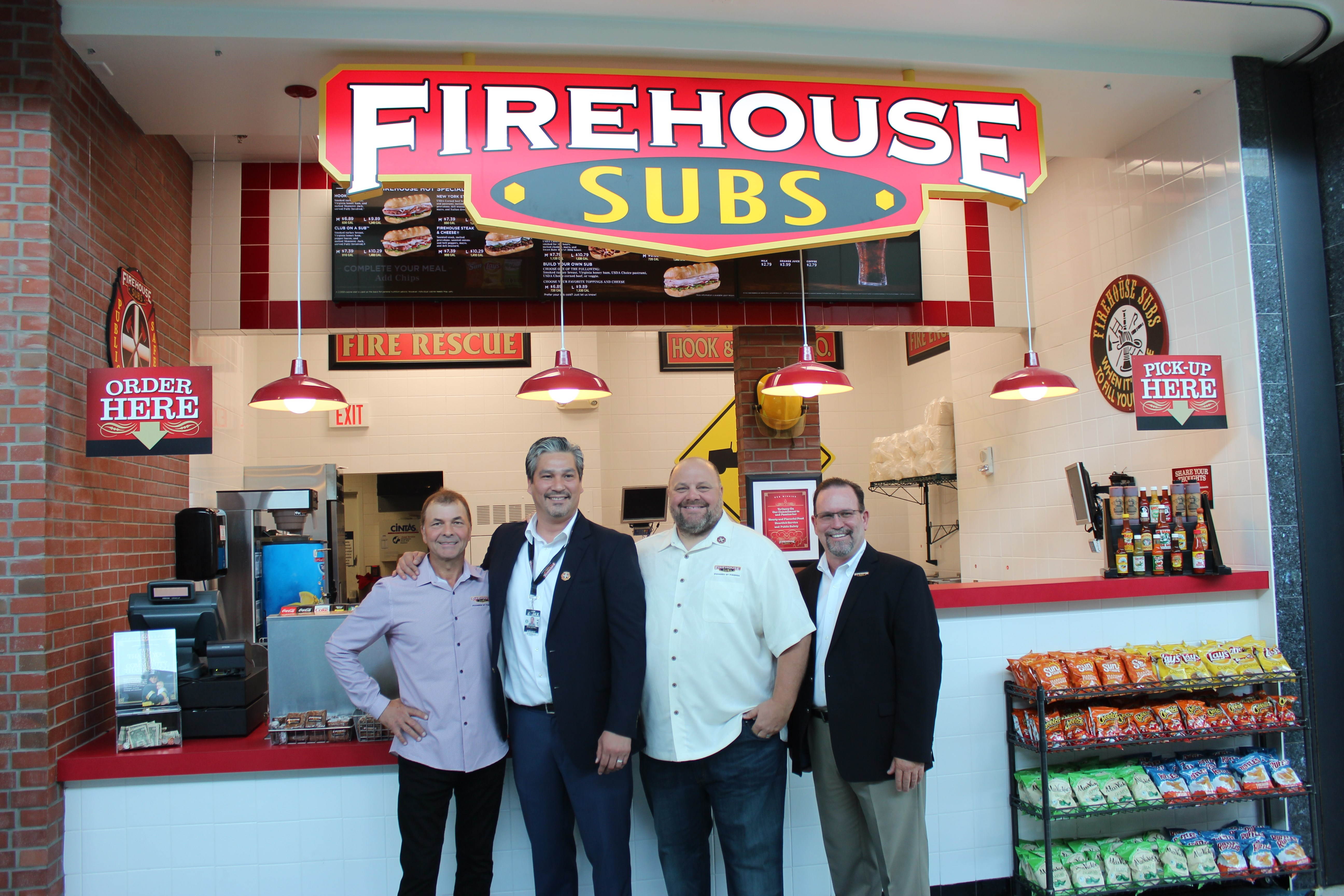 FIREHOUSE SUBS® DEBUTS NEW AIRPORT CONCEPT WITH FIRST FRANCHISE LOCATION INSIDE JACKSONVILLE INTERNATIONAL AIRPORT