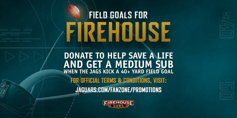 FIELD GOALS FOR FIREHOUSE SUBS REVAMPED FOR NEW SEASON