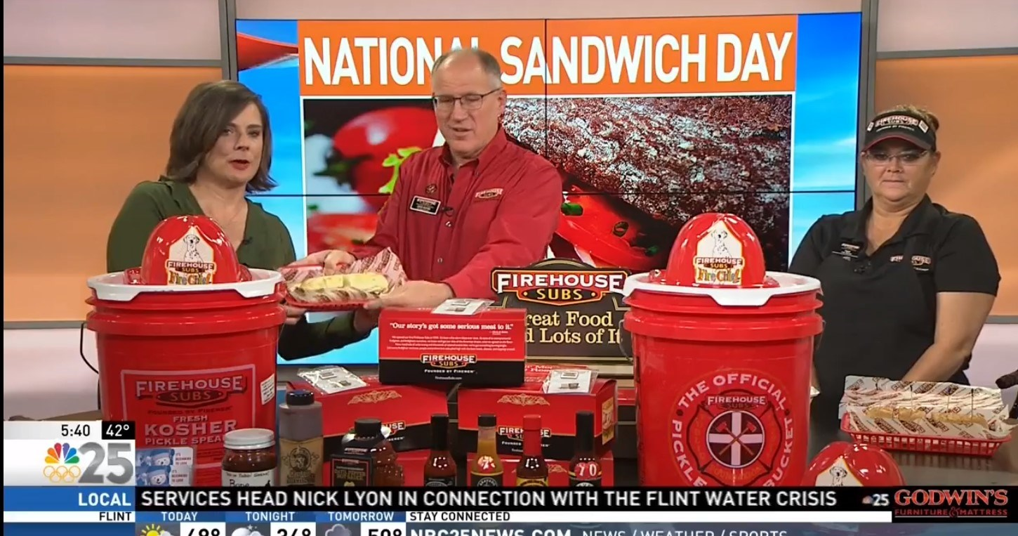 CELEBRATING NATIONAL SANDWICH DAY WITH FIREHOUSE SUBS