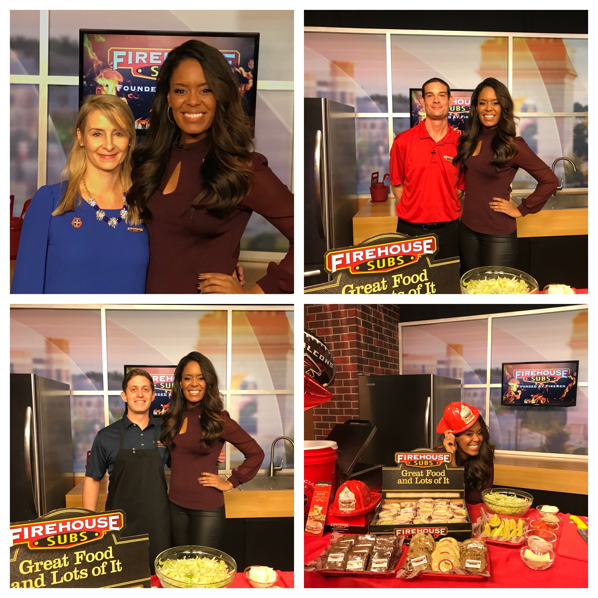 FIREHOUSE SUBS FEATURED ON ATLANTA PLUGGED IN