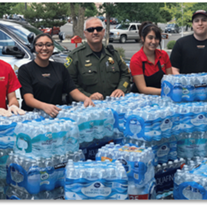 FIREHOUSE SUBS® AIDS COMMUNITIES NATIONWIDE WITH EIGHTH ANNUAL H2O FOR HEROES®
