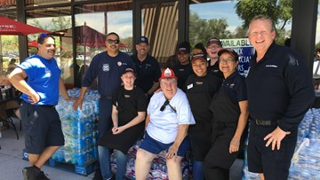 H2O FOR HEROES OUTREACH IN PHOENIX, ARIZONA
