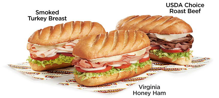 Firehouse Subs $4.99 Choice Subs